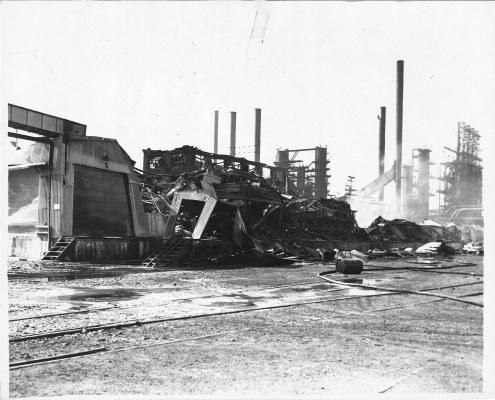 Refinery fire, 1941