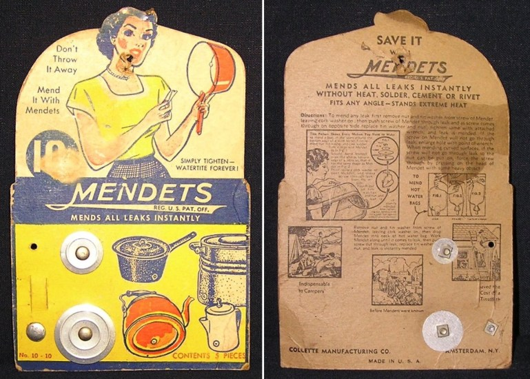 Mendets cookware plug