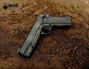 Kimber Warrior 1911 in War Torn w/Burnt Bronze and Graphite Black