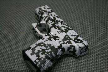 Glock 23 in 3 Color Digital Camo Cerakote