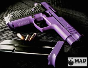 Lionheart Industries LH9 in Cerakote Bright Purple