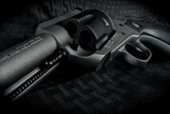 Ruger Blackhawk in Cerakote Tungsten & Graphite Black