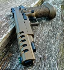 STI 2011 in Cerakote Burnt Bronze & Graphite Black