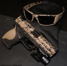 M&P & Oakley Fuel Cell in 2 color Skull Pattern w/Magpul FDE & Graphite Black