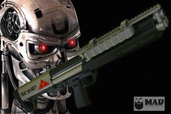 Skynet Themed Kel-Tec KSG
