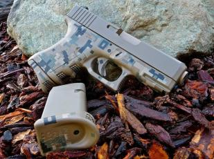 Glock 27 in 3 color Digital Camo