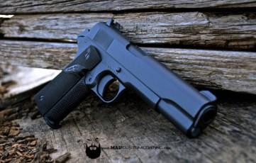Colt 1911 in Cerakote Sniper Grey