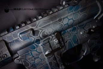 MAD Dragon Ghost Camo using MAD Black, MAD Blue & Sniper Grey