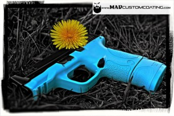 M&P in Cerakote Robin's Egg Blue (Tiffany Blue)
