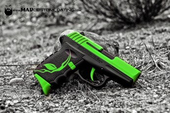 Alien Gear Theme on an SCCY 9mm