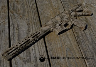 MAD Dragon Camo in Magpul FDE, Patriot Brown & Desert Sand