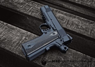 MAD Black on a Colt 1911