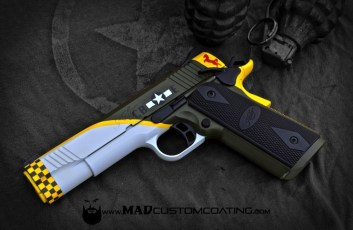 WWII Mustang Themed Kimber 1911