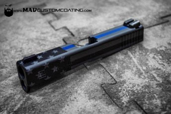 Thin Blue Line & Muted Flag Cerakote