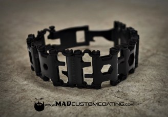 MAD Black Plus on a Leatherman Tread