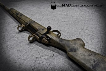 MAD Brush Camo in MAD Black, Magpul FDE & Magpul OD