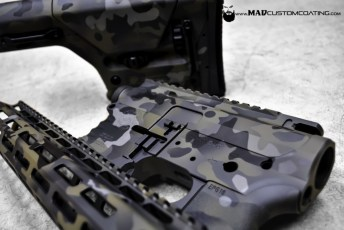 MADLand Camo on a Cross Machine Tool AR15