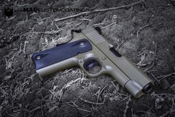 1911 in Magpul Foliage & MAD Black