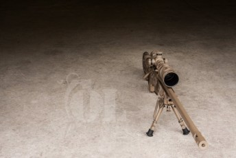 Desert ATACS on a Remington 700 in an AI Chassis
