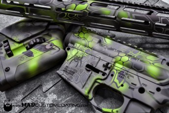 MAD Dragon using MAD Black, Sniper Grey, Smith's Grey & Zombie Green