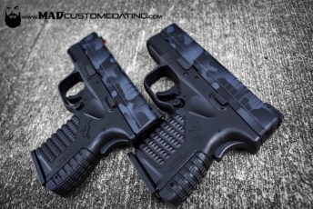 MADLand Camo on a pair of XDs pistols