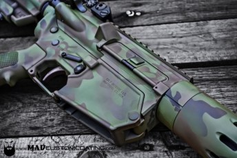MADLand Camo using Magpul OD, Patriot Brown & a custom mix green