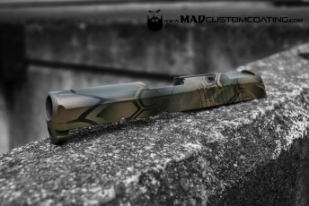 MAD Dragon using Magpul Foliage, Magpul FDE & Magpul OD