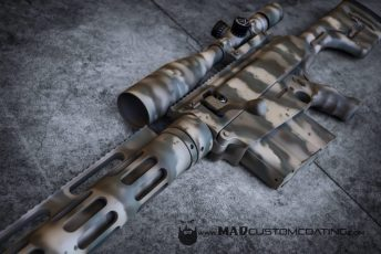 Bushmaster BA50 in MAD Edge Camo