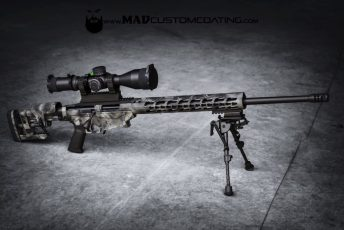 MAD Dragon Camo on a Ruger Precision Rifle