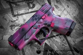 Pink MAD Dragon Camo Glock 43