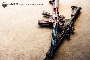 War Torn Flag & MADLand Camo V7 AR15s