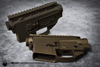 V7 AR15 in Matte Burnt Bronze & Patriot Brown