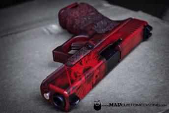 War Torn Glock Crimson CFS Combat handgun