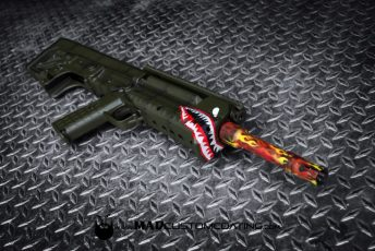 Warkawk Theme on a Kel Tec RFB