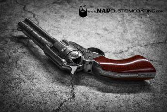 Cerakote Clear on a Uberti Revolver
