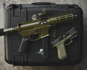 OD Green Angstadt Arms 9mm AR