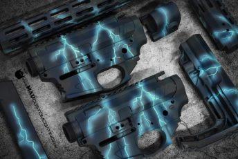Lightning Theme on a few Jones Arms 9mm sets