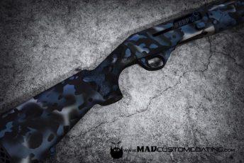 MADLand Camo in Blue Ti, MAD Black & Satin Mag