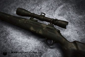 madland camo tikka rifle leupold