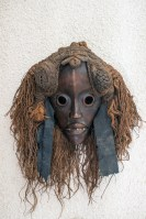 Face mask from the Cote d'Ivoire