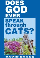 """Reviewer: """"He does! God frequently speaks to me through cats, although I'm not always certain why God is meowing insistently at me at 5 AM or why He in His divine wisdom has hacked up a hairball into my Nikes. God moves in mysterious ways!"""""""