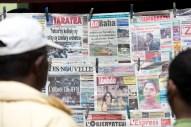 Newspaper readers