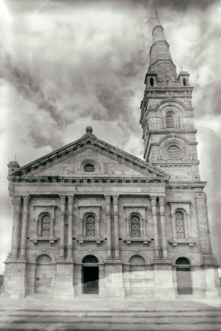 The church at the Queen's palace