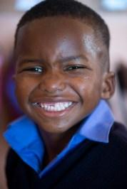 Big smiles in Grade R.