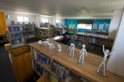 The Alex Bury Library.