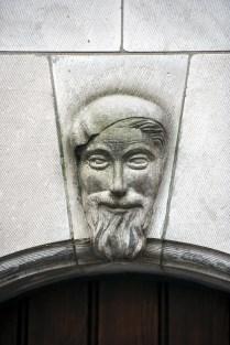 Above a door in Rue des Mineurs.