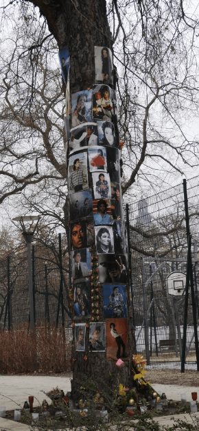 Micheal Jackson Tree