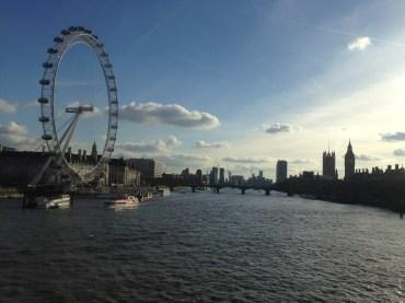 View of London Eye