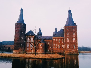 Castle in Hoensbroek sister and I walked to