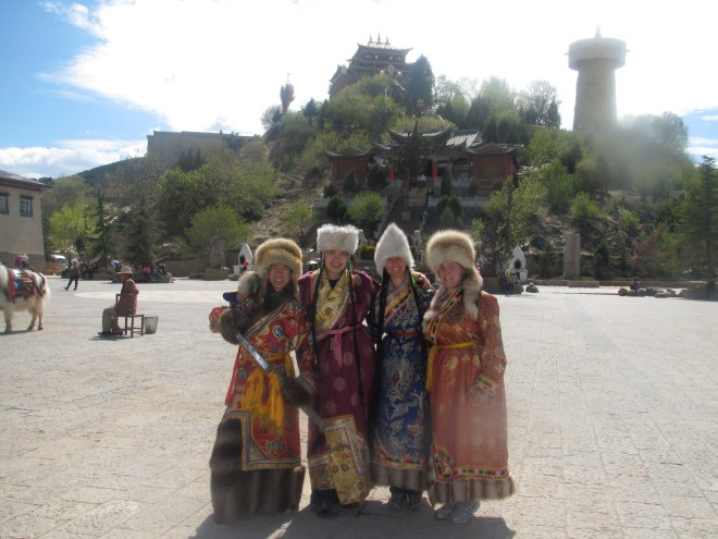 Goofy picture of me in western China